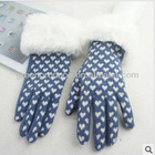 New model women colorful Touch screen gloves for IPAD,Iphone and other smart screen