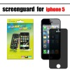 High quality good privacy screen protector for iphone5 privacy screen protector