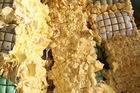 Polyurethane foam scrap
