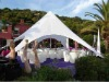 outdoor festival tent