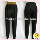 Lady Casual Pants With Bead 8321