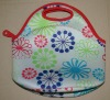 Neoprene Lunch bag with Sublimation Pattern