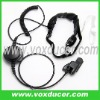 Military throat vibration mic for Motorola wireless radio GP900 GP9000 HT1000 JT1000