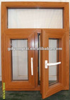 pvc wooden grain window