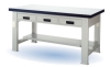 steel simple desk
