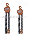 Hand chain lifting crane hoist