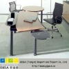 Cigarette resistant office HPL office table top