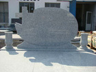 Chinese granite G664 tombstone