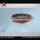 feshion leather bracelet with diamond