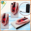 Colorful Vertical Phone Leather Skin Case For Apple iphone 4G 4S New Design Mobile Phone PU Cover Case