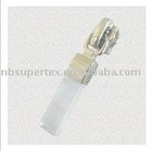#5 Auto-lock slider with plastic puller for nylon zippers