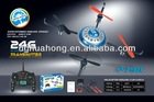 HD WiFi Control Airplane helicopter - Four-axis RC Mini UFO build in GYRO - APP Control airplane
