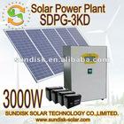 3000w high quality solar energy system