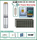 Solar Water Pump-------2012 New Design Stainless Steel Solar Water Pump