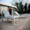 HY-3053 leisure aluminum large outdoor rattan chaise lounge chairs