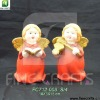 Ceramic angel figurine Christmas gifts set