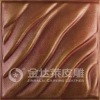 embossed polyurethane leather 3D wall panel