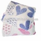 coral fleece TV blanket(Couple Set)