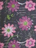 600D flower design pvc coated printed polyester fabric,silver drop,hot sale