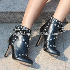 New women dress shoes/fashion high heel shoes woman 2012