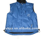 100%Polyester Men's Vest,with thick fleece inside
