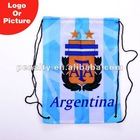 custom Argentina football backpack