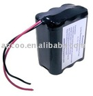 Pottel 18650 battery pack 7.4V 7200 mAh with PCB,2S3P 18650 battery pack 7.4V 2200mAh with PCB