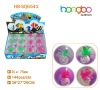 TPU high bouncy glitter frog /octopus water ball/Glitter water high bounicng ball/super glitter ball