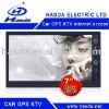 2 din in dash car gps with KTV,real time stock market ,support 16GB U disk/USB/SD