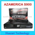 Hot sale in stock original AZAMERICA S900 satellite receiver full HD 1080p support iks+dongle i-box