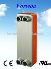 FHC028 brazed plate heat exchanger (with UL&CE)