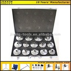 Quality Auto Repair Hand Tools Set - 14 Pcs Cap Type Oil Filter Wrench Set from 65mm - 93mm