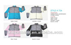 ladies nylon/microfleece combo jacket