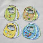 4 pack baby feeder bib