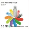 Colorful Plastic USB Flash Disk