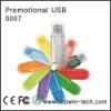 Colorful Plastic USB Flash Disk