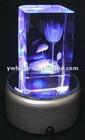 3D laser crystal, home decoration, LED light base for crystal