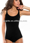 black sexy one piece swimwear for women with low price