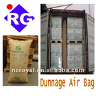 Container Using Inflatable Dunnage Air Bag