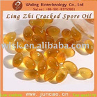 500mg,pure organic lingzhi/ganoderma lucidum spore oil softgel
