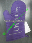 custom 100% cotton oven mitts