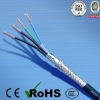 PVC Flame Retardant 4 Core Shielded Power Cable