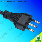 Italy style standard 3pin power plug
