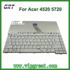 new original for acer 4520 5720 laptop keyboard
