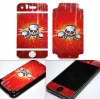 cellphone 3M material Skin sticker for iphone 3 gloss in dark