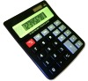 8 digits office Plastic keybaord Middle size desktop calculator gift