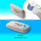 3D Oval Shape White Eraser