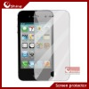 High clear anti-fingerprint screen protector for iphone 4