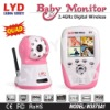 New 2.5-inch 2.4Ghz Quad View Night Vision Motion Detection Record Audio And Video Wifi Digital Wireless Baby Monitor