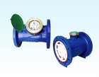 Horizontal vane wheel wet-type cold water meter